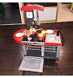 Дитяча ігрова кухня зі звуковими ефектами з посудом і аксуссуарми, фото 2