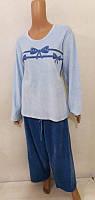 Комплект женской домашней одежды, велюровый (кофта+штаны) VS Турция (размер XL)