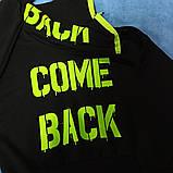 Костюм спортивный супермодный красивый нарядный оригинальный чёрного цвета с яркими надписями для девочки., фото 3