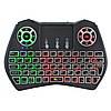 Бездротова російська клавіатура Rii i9 2.4 G з RGB підсвіткою, фото 6