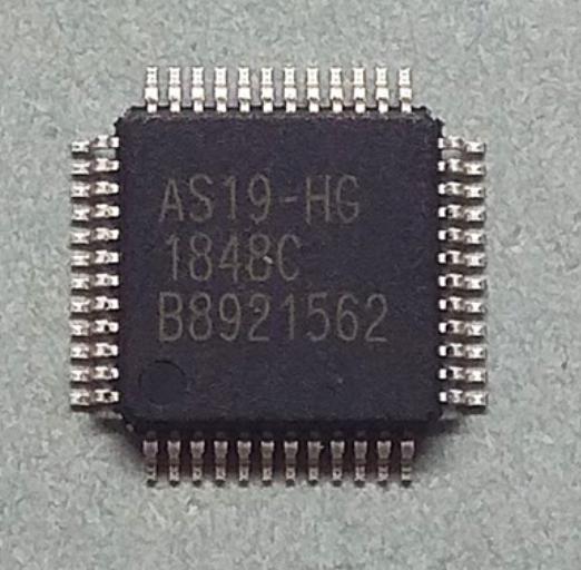 Мікросхема AS19-HG, TFT-LCD 18+1 канальний гамма-буфер QFP48 AS19-H1G