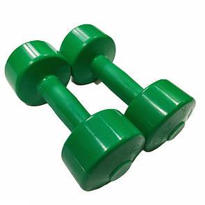 Гантели для фитнеса Титан 2 кг х 2 шт.