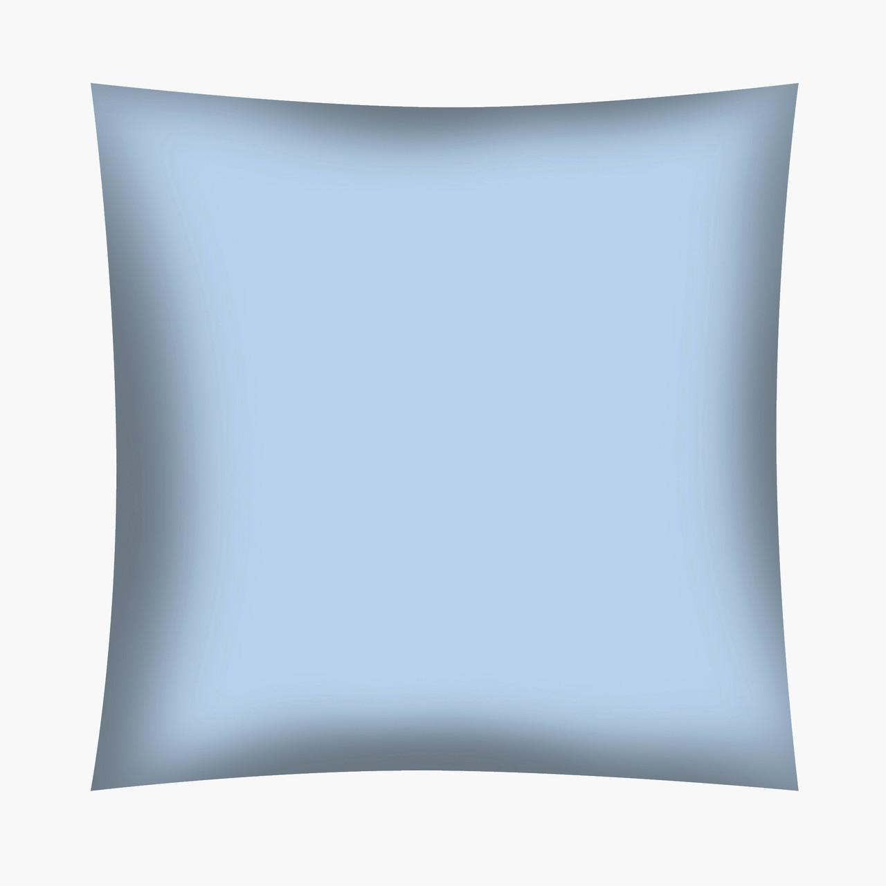Отрез Хлопковой ткани Небесно-голубая (Польша!) 60х160 см