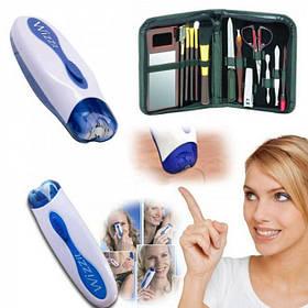 Эпилятор электрический для удаления волос Wizzit с набором для маникюра (NJ-189)