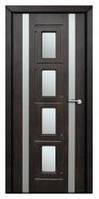 Дверь межкомнатная Модель РИМ (остекленная), тик