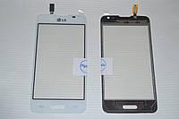 Оригинальный тачскрин / сенсор (сенсорное стекло) для LG Optimus L65 D280 (белый цвет)