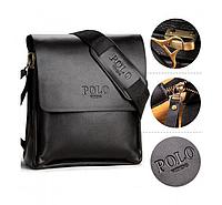 Мужска сумка POLO Videng, Черная, фото 1