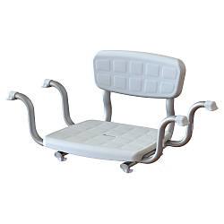 Сиденье для ванны со спинкой KING-BSB-00 (сиденье на ванну, в ванную)