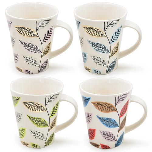 Чашка для чаю Leaf 450мл (тільки по 12 штук)