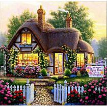 Картина по номерам «Магазин ароматов» 40*50см