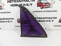 Стекло задней левой двери (форточка / глухое) седан Mercedes W123 (1975-1985) ОЕ: 1237350124