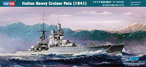 Итальянский тяжелый крейсер Pola (1941). Сборная модель в масштабе 1/350. HOBBY BOSS 86502