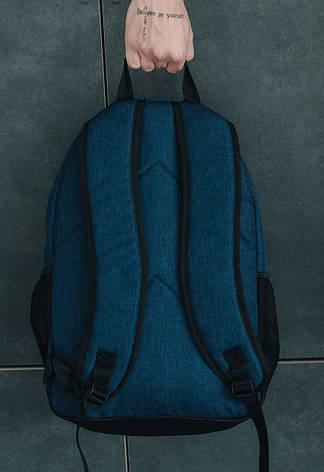 Класичний рюкзак міський темно-синій Staff 25L navy logo - CBS0657, фото 2