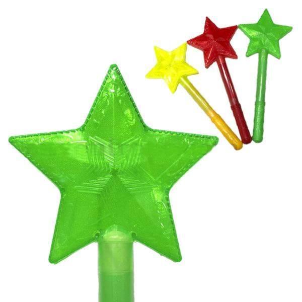 Волшебная палочка светящаяся Звезда 4 шт