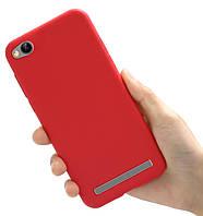 Чехол Style для Xiaomi Redmi 4A Бампер силиконовый Красный, фото 1