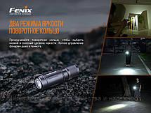 Ліхтар ручний Fenix E02R синій, фото 2