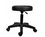 Табурет стілець хокер косметичний Callisimo Promos чорний, фото 2