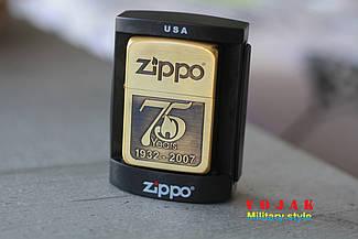 """Запальничка Zippo """"75 років, Ювілейна"""""""