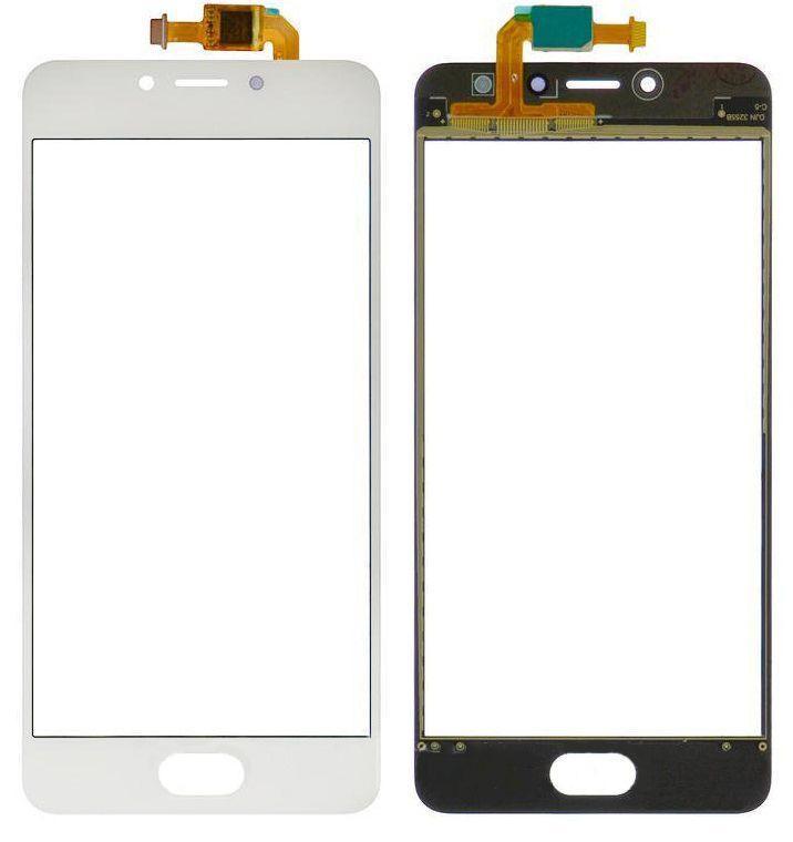 Сенсор (тачскрин) Meizu M5s M612, M5s mini M612 (original) White