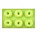 Форма силиконовая  для выпечки кексов со стержнем 6 шт на планшетке, фото 2