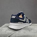 Чоловічі рефлективні кросівки New Balance 997H (сині) 10361 демісезонна спортивна якісна взуття, фото 5