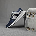 Чоловічі рефлективні кросівки New Balance 997H (сині) 10361 демісезонна спортивна якісна взуття, фото 6