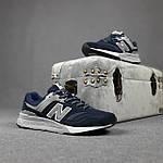 Чоловічі рефлективні кросівки New Balance 997H (сині) 10361 демісезонна спортивна якісна взуття, фото 7