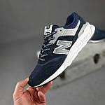 Чоловічі рефлективні кросівки New Balance 997H (сині) 10361 демісезонна спортивна якісна взуття, фото 8