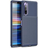 Чохол Carbon Case для Sony Xperia 5 Blue