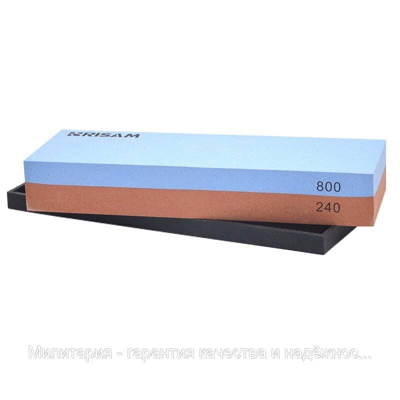 Точильний камінь Risam RW003 зернистість 240,  800 водний