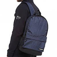 Рюкзак міський Style коттон темно-синій, фото 1