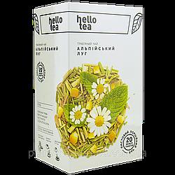 Травяной чай без ароматизаторов Альпийский луг Hello Tea 20 п
