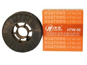 Проволока сварочная омедненная HTW-50 HUATONG диаметр 1,2 (15 кг)