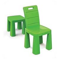 Стульчик-табурет детский Doloni, зелёный (04690/2)