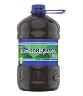 Азотный Рост Концентрат (15+7+7) 4 л органо-минеральное удобрение Украина