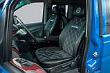 Чехлы Mercedes-Benz Vito 639 2003- Нубук 1+2, фото 3