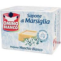 Мило марсельске мускус 250гр Sapone di Marsiglia Omino Bianco Muschio