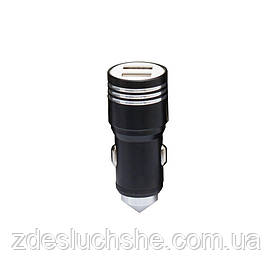Авто Usb адаптер Hammer II WIN-010 2 Usb 2.4 A SKL11-229263