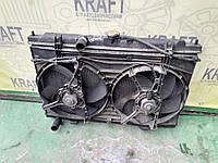 Бо радіатор з вентилятором основного радіатора для Nissan Almera Tino 2002 p., Almera, Primera, фото 1