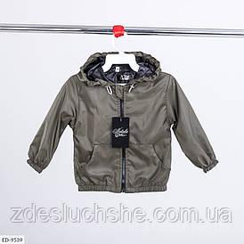Ветровка детская с кармашками хаки SKL78-260940