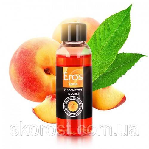 Масло массажное с ароматом персика EROS EXOTIC 50 мл