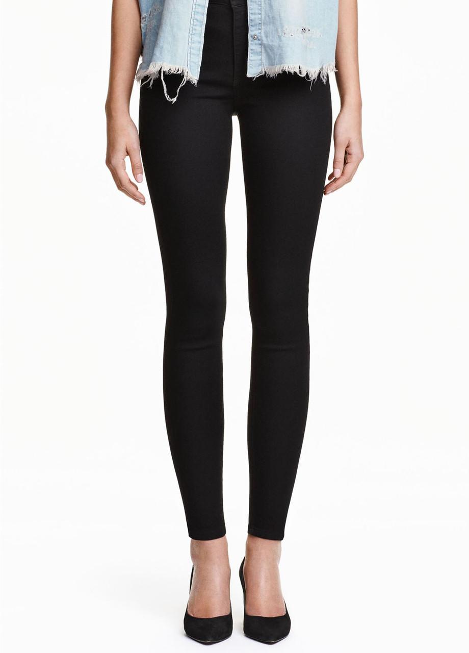Женские джинсы H&M 32(175/82) черный