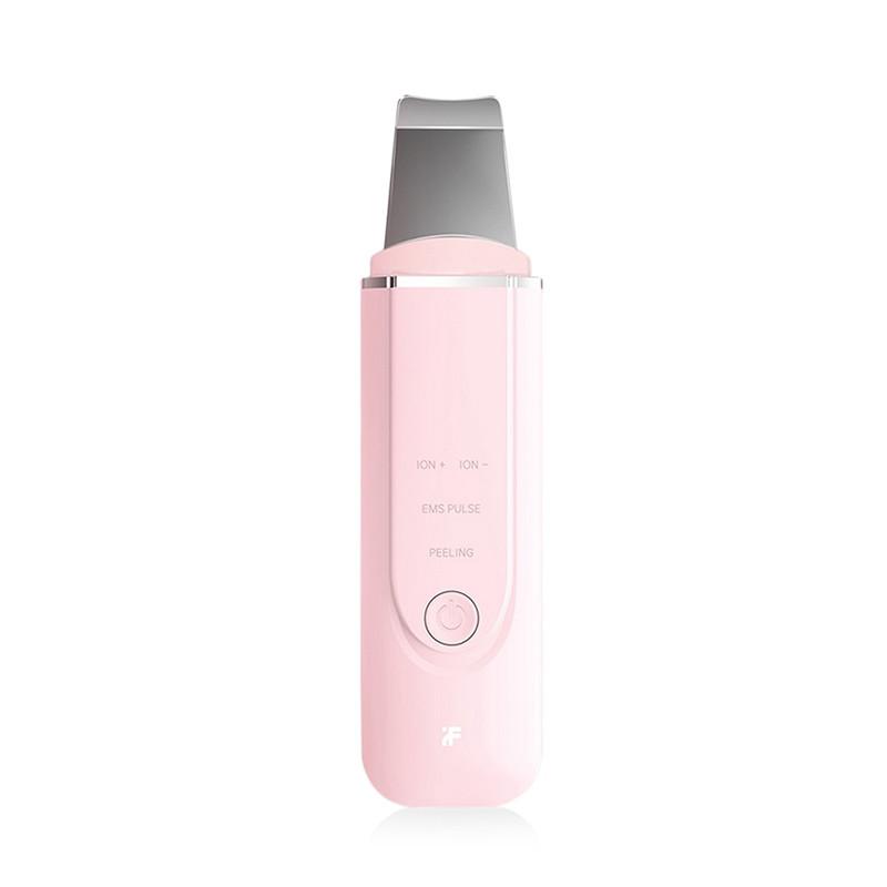 Ультразвуковой ионизатор, скрабер чистки лица Xiaomi InFace MS7100 Розовый