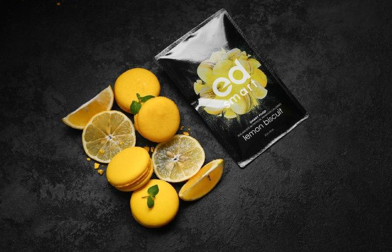 Заменитель Сбалансированное питания для похудения ED Smart Lemon Biscuit  лимонное печенье 7 пакетов коктейль