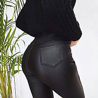 Жіночі шкіряні брюки новинка 2021