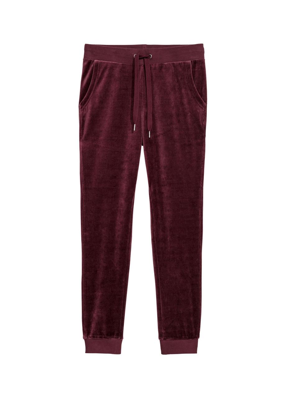 Жіночі штани H&M M(170/80) бордовий