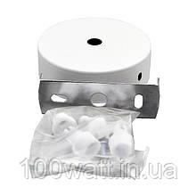 Кріплення стельове для спрямованого світильника біле