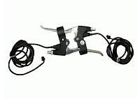 Комплект из двух ручек тормоза с микровыключателями для детских электроквадроциклов Crosser\Profi HB-6