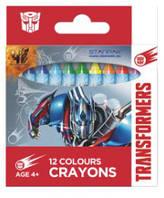 """Восковые карандаши 12 цветов """"Transformers"""" 274533 Starpak"""