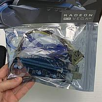 Новые Райзер 6 pin v006C\ 007 \009S  USB 3.0 PCI-E 1X - 16X Riser для Видеокарт 60см adapter PCI express, фото 2